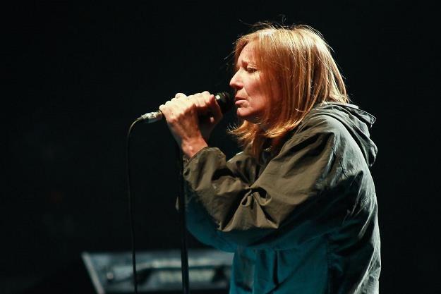 Beth Gibbons (Portishead) podczas koncertu w Nowej Hucie /Bartosz Nowicki / www.bartosznowicki.pl
