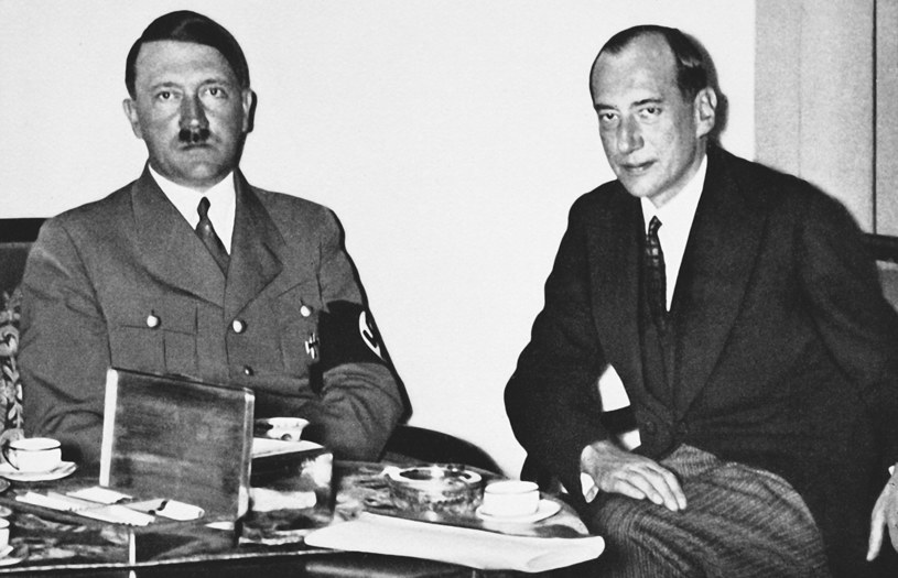 Betty romansowała z hrabią Łubieńskim, szefem gabinetu Józefa Becka (z prawej), który kierował polskim MSZ /East News