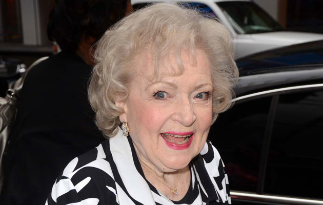 Betty White   /Splashnews