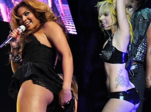 Beyonce (fot. Jason Kempin) i Lady GaGa (fot. Jason Merritt) zarobiły dziesiątki milionów /Getty Images/Flash Press Media