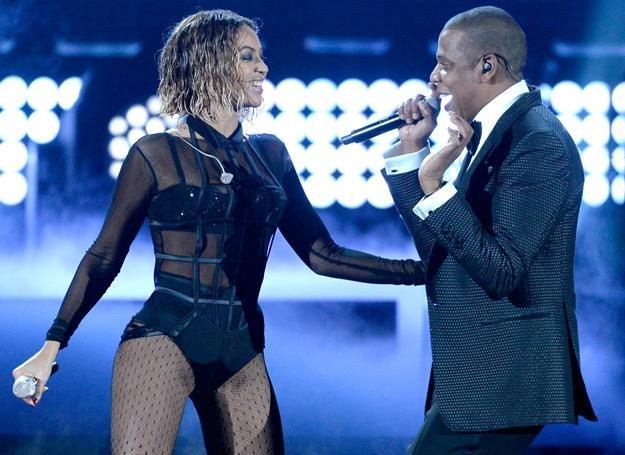 Beyonce i Jay-Z na gali Grammy 2014 - fot. Kevork Djansezian /Getty Images/Flash Press Media