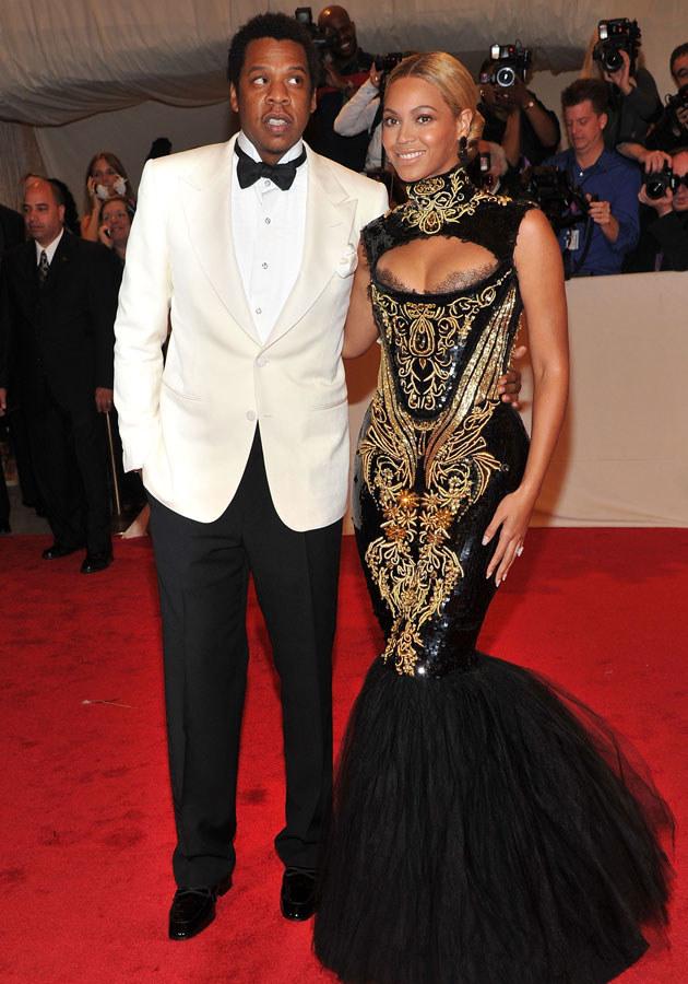 Beyonce i Jay Z niecierpliwie oczekują na rozwiązanie.  /Stephen Lovekin /Getty Images