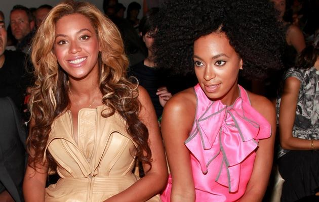 Beyonce i Solange /- /Getty Images