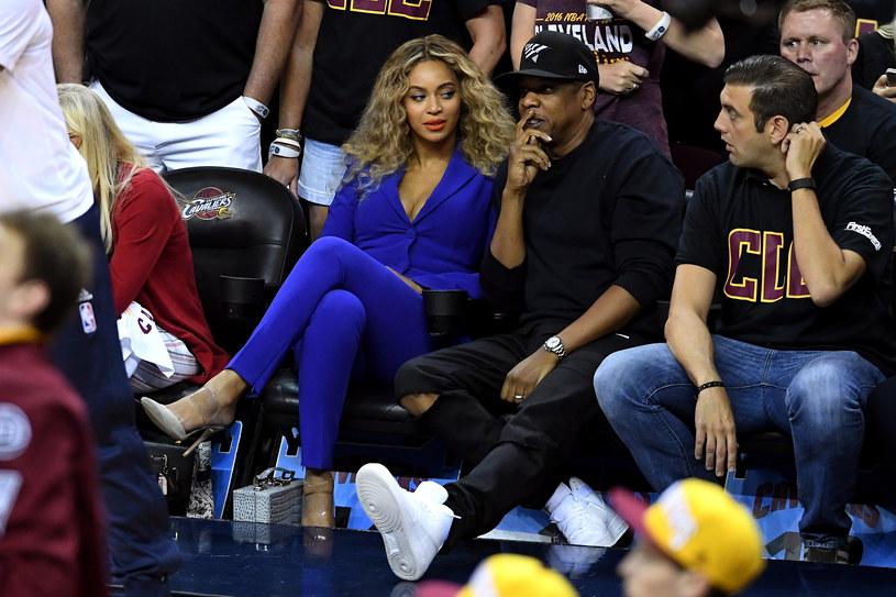 Beyonce, Jay Z i Steve Cespedes /Jason Miller /Getty Images