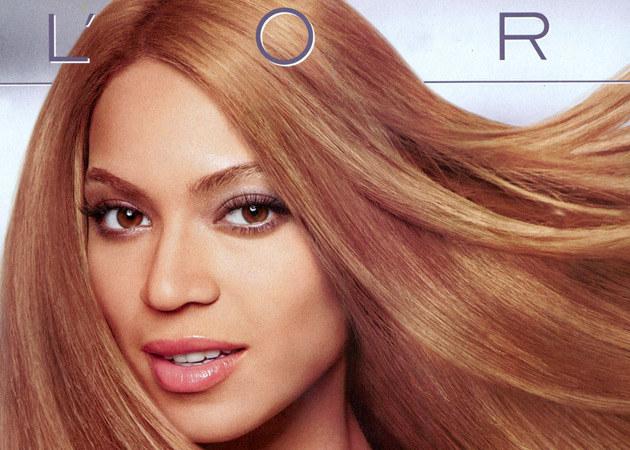 Beyonce na plakacie reklamowym L'Oreal  /Splashnews