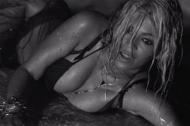 "Beyonce w seksownym teledysku ""Drunk In Love"" /"
