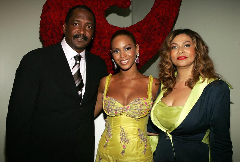 Beyonce z rodzicami /Frank Micelotta /Getty Images