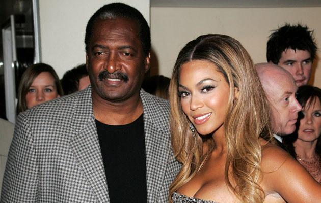 Beyonce z tatą, fot. Dave Hogan  /Getty Images/Flash Press Media