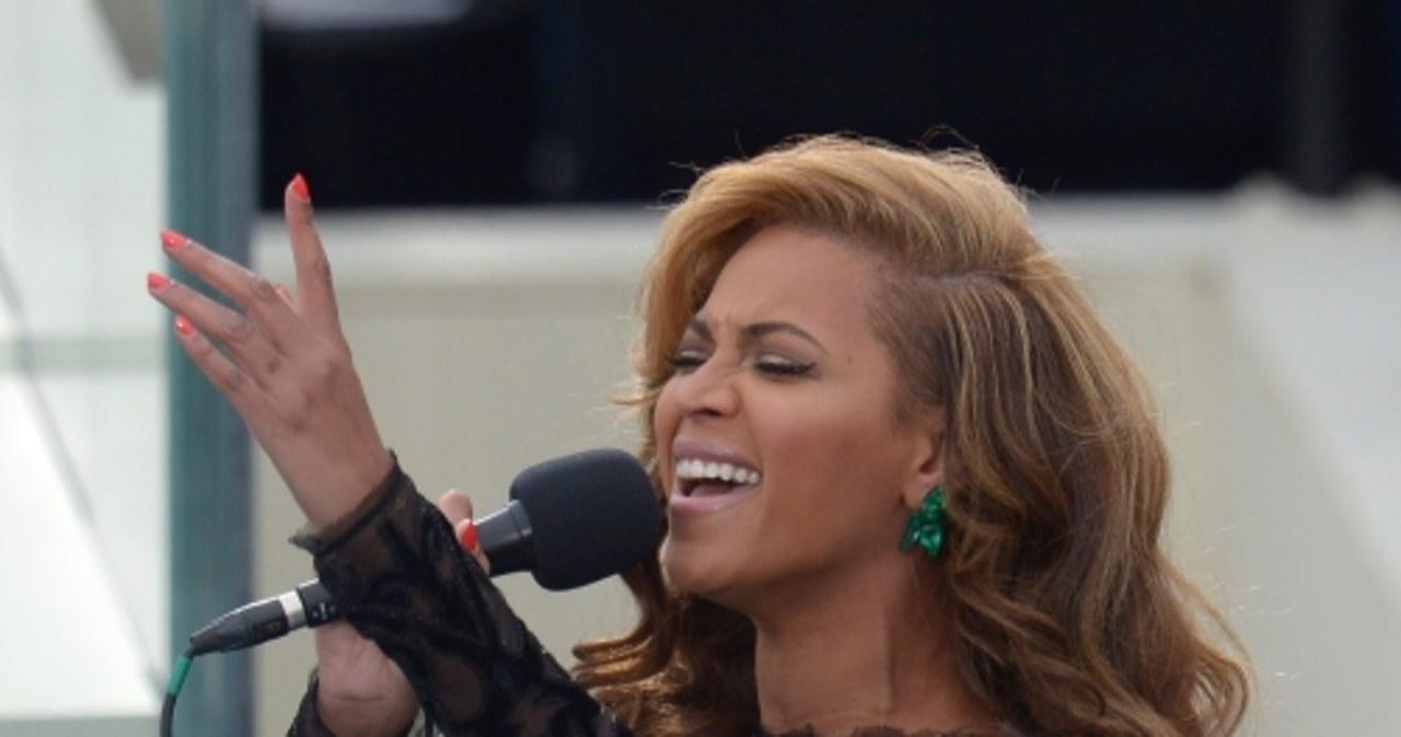 Beyoncé zaśpiewała hymn na zaprzysiężeniu Baracka Obamy