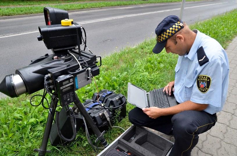 Bez fotoradarów strażnicy nie mają zajęcia? /Reporter