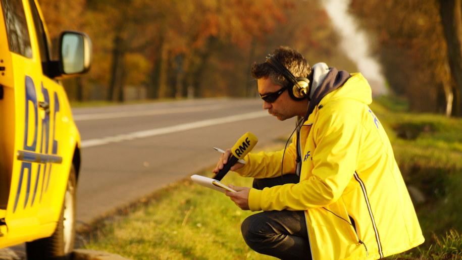 Bezpieczny powrót z RMF FM - specjalne serwisy drogowe na antenie radia /Michał Dukaczewski /RMF FM