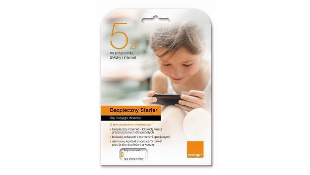 Bezpieczny Starter Orange dla najmłodszych /materiały prasowe