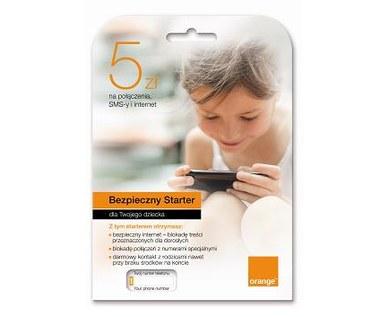 Bezpieczny Starter Orange dla najmłodszych