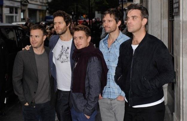"""""""Bezprecedensowe zapotrzebowanie"""" na Take That fot. Ian Gavan /Getty Images/Flash Press Media"""