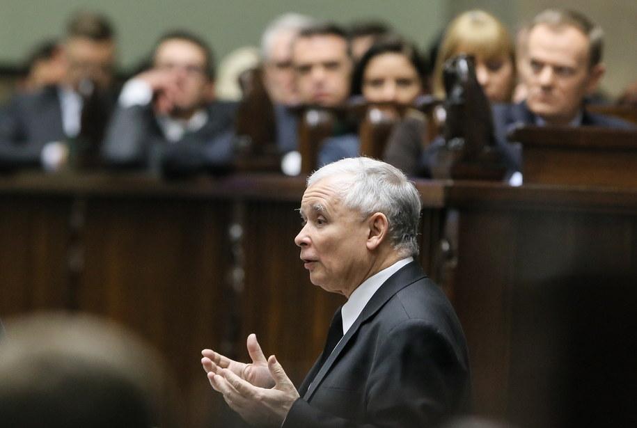 Bezrobocie to jeden z wielu zarzutów wobec rządu - mówił w Sejmie prezes PiS /Paweł Supernak /PAP