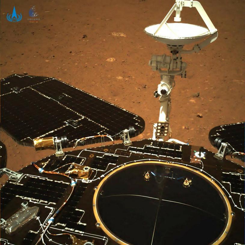 Bezzałogowa misja Tianwen-1 to pierwsza w pełni chińska wyprawa na Marsa /CNSA/Associated Press /East News