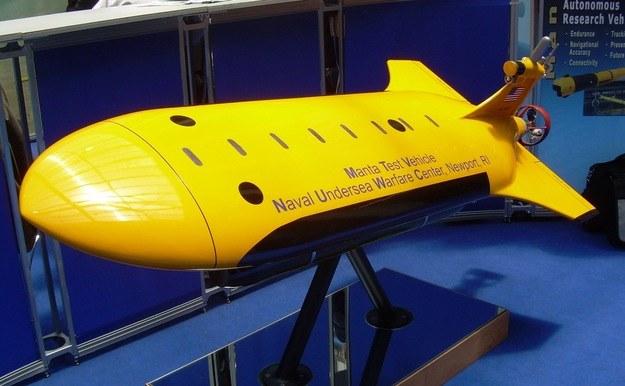 Bezzałogowy pojazd podwodny. Fot. M.Dura /Defence24