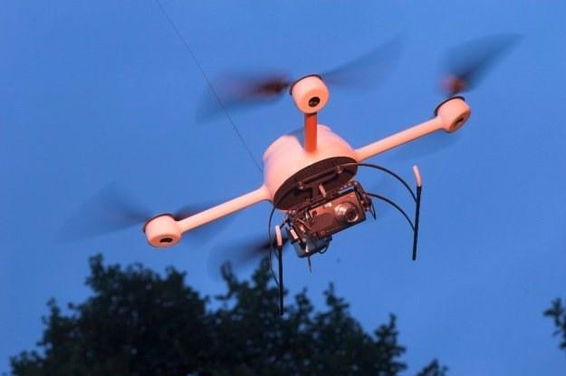 Bezzałogowy samolot firmy Microdrones /materiały prasowe
