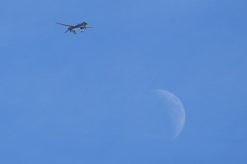 """""""Biała Wdowa"""" miała zginąć w nalocie drona (zdjęcie ilustracyjne) /Isaac Brekken / GETTY IMAGES NORTH AMERICA /AFP"""