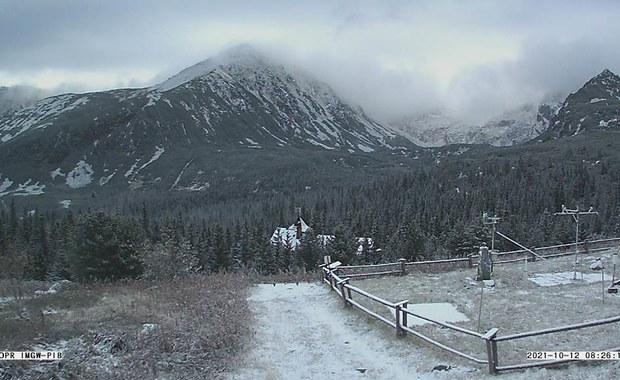 Białe Tatry! W górach sypnęło śniegiem [ZOBACZ WIDOK Z KAMER]