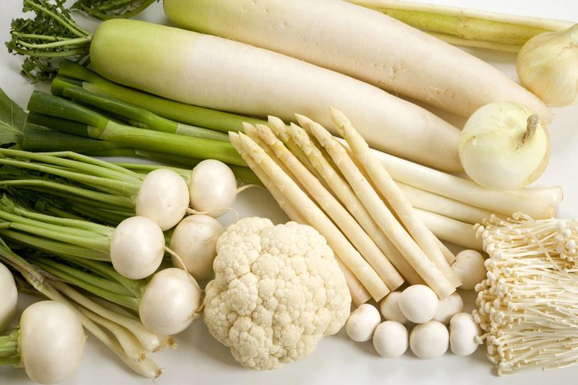 Białe warzywa wzmacniają odporność /123RF/PICSEL