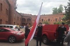 Biało-czerwona sztafeta RMF FM w Krakowie
