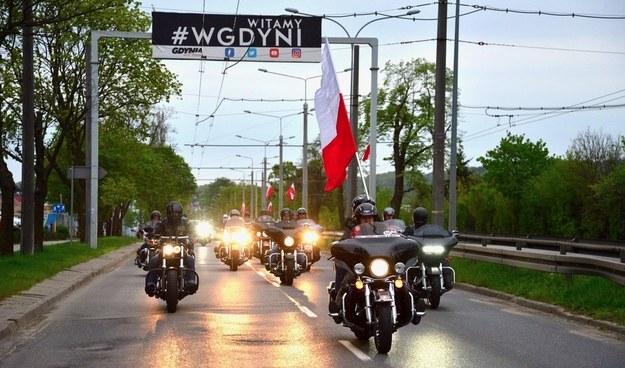 Biało-czerwona sztafeta RMF FM z okazji Dnia Flagi - 2 maja 2018 r. /Paweł Gąsior /RMF FM