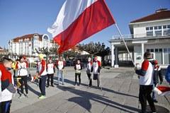 Biało-czerwony bieg z RMF FM w Sopocie