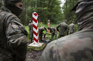 Białoruś: Polska stworzyła dziwną sytuację na granicy