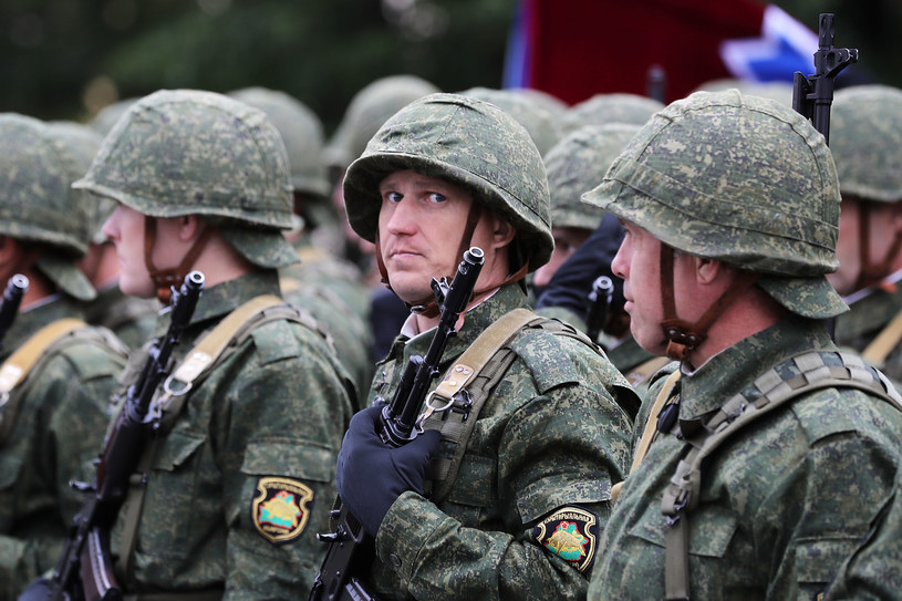 Białoruscy żołnierze / zdj. ilustracyjne /Getty Images