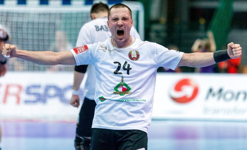 Białorusin Maksym Baranau /Andrzej Grygiel /PAP
