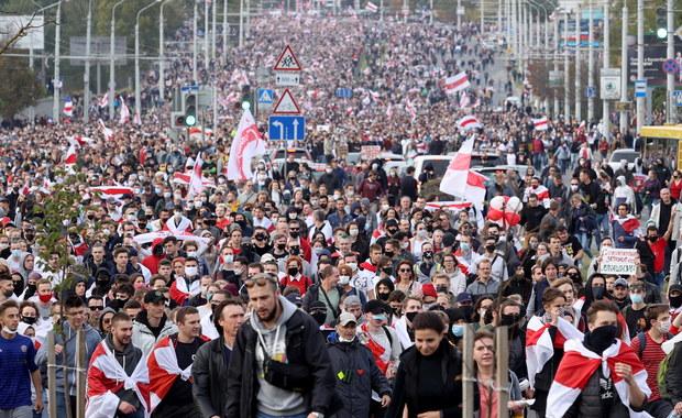 Białorusini zdeterminowani: 84 proc. deklaruje dalsze protesty