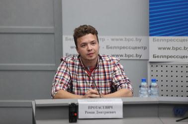 Białoruska dziennikarka do Pratasiewicza: Nie wierzę w to, co pan mówi. Proszę przeżyć