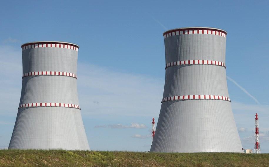 Białoruska elektrownia atomowa pod Ostrowcem /OKSANA MANCHUK / POOL /PAP/EPA