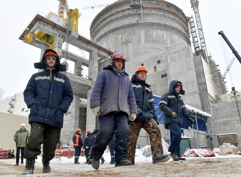 Białoruska elektrownia atomowa powstaje w obwodzie grodzieńskim, ok. 20 km od miejscowości Ostrowiec /VIKTOR DRACHEV /PAP/EPA