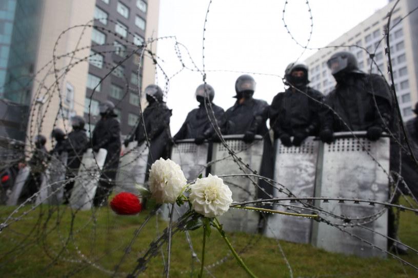 Białoruska milicja, zdjęcie ilustracyjne /AFP