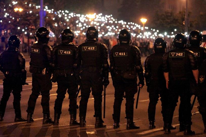 Białoruska milicja /AFP