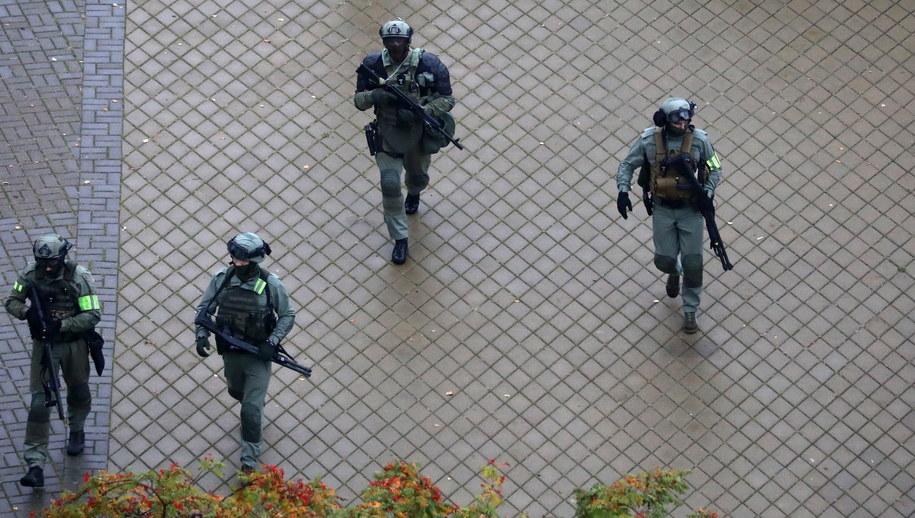 Białoruska milicja / STR   /PAP/EPA