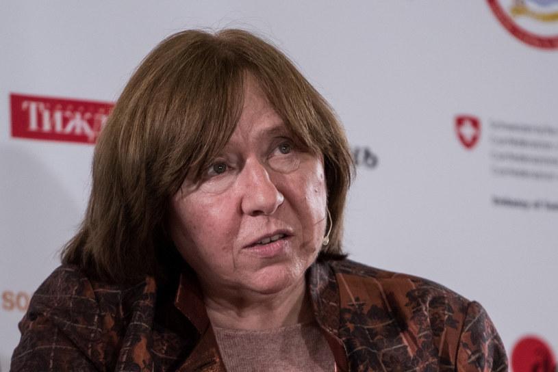 Białoruska noblistka Swiatłana Aleksijewicz /AA/ABACA /East News