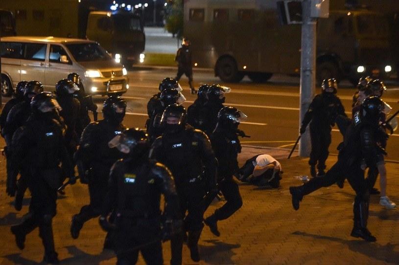 Białoruskie służby bezpieczeństwa /AFP
