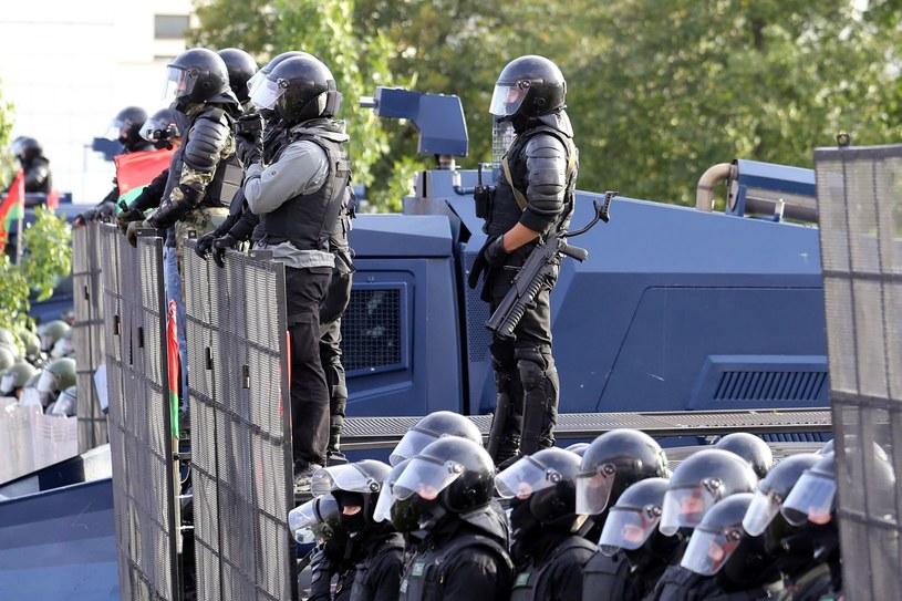 Białoruskie służby przygotowują się do demonstracji opozycji /AFP