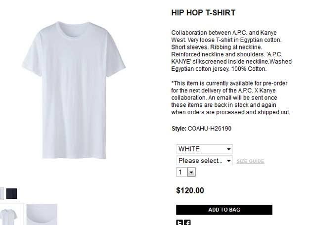 Biały t-shirt Kayne'a Westa /INTERIA.PL