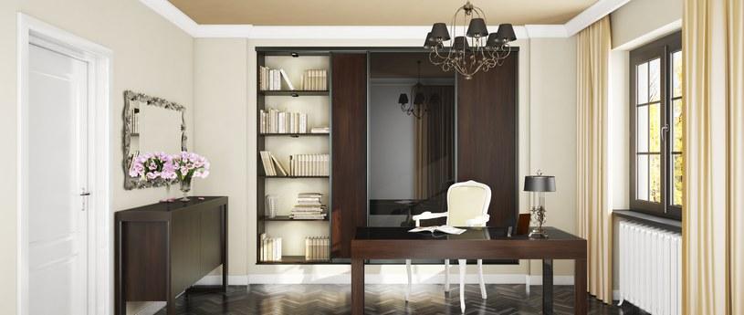 Biblioteczka doda każdemu wnętrzu stylu i klasy /materiały prasowe