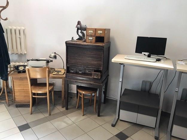 Biblioteka Katolickiego Uniwersytetu Lubelskiego stworzyła zabytkowe stanowisko pracy bibliotekarza /Krzysztof Kot /RMF FM