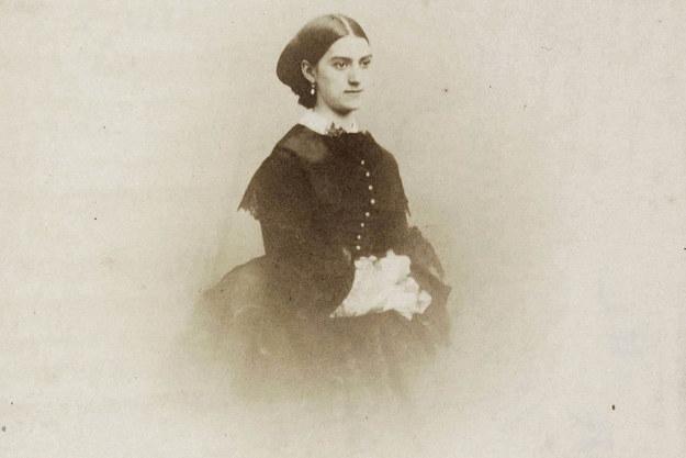 Biblioteka Narodowa Francji opublikowała zdjęcie przedstawiające Constance Queniaux wykonane przez francuskiego fotografa Nadara (1820-1910). /BIBLIOTHEQUE NATIONALE DE FRANCE / HANDOUT /PAP/EPA