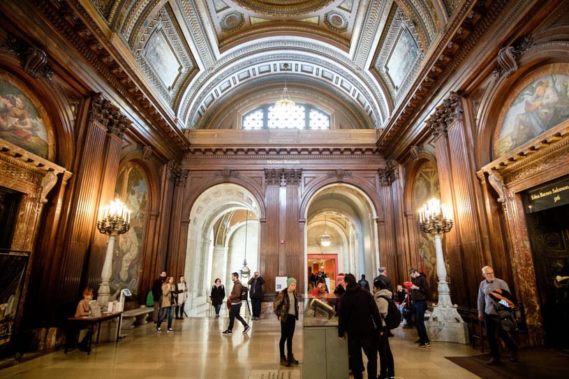 Biblioteka Nowojorska - The New York Public Library /Mateusz Grochocki/East News /East News