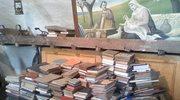 Biblioteka proboszcza uratowana