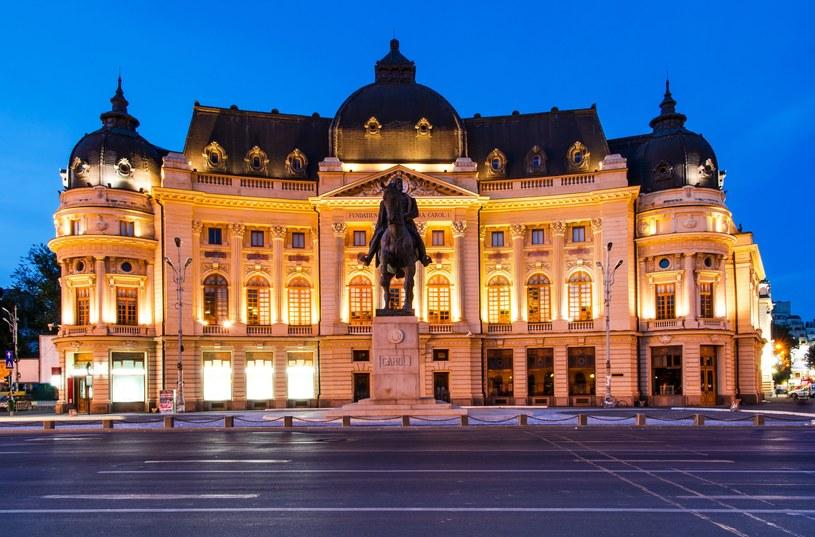Biblioteka Uniwersytecka w Bukareszcie /123/RF PICSEL