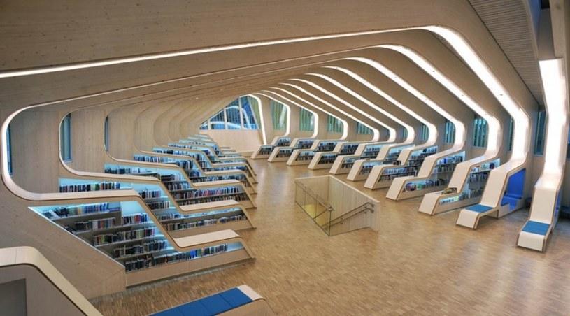 Biblioteka w Vennesla, Norwegia /en.wikipedia.org /INTERIA.PL