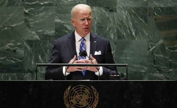 Biden na forum ONZ: Jesteśmy w punkcie zwrotnym historii świata